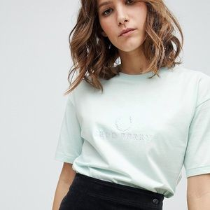 Fred Perry Wreath Logo T Shirt